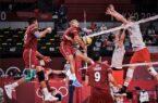 پیروزی تیم ملی والیبال لهستان برابر کانادا به سود ایران
