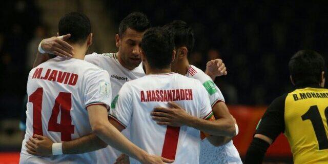ایران، ضعیفترین خط دفاع بین ۸ تیم یک چهارم نهایی جام جهانی فوتسال