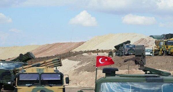 وقوع چند انفجار مهیب در نزدیکی پایگاه نظامیان ترکیه در عراق