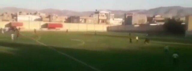 ماجرای درگیری شدید در مسابقه فوتبال لیگ جوانان آذربایجان شرقی