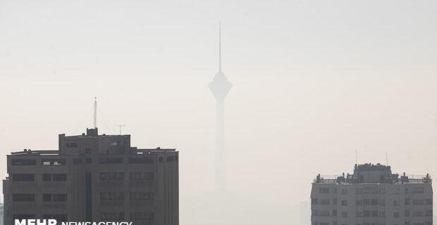توفان گرد و غبار چگونه پایتخت را در نوردید؟