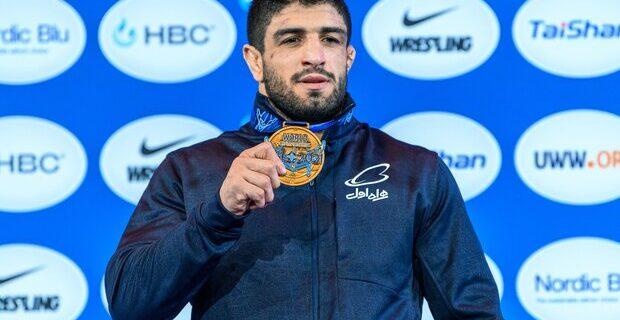 قاسمپور: از کسب اولین مدال جهانی بسیار خوشحالم