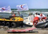 نجات جان ۸۲ نفر در ماموریت های ساحلی هلال احمر