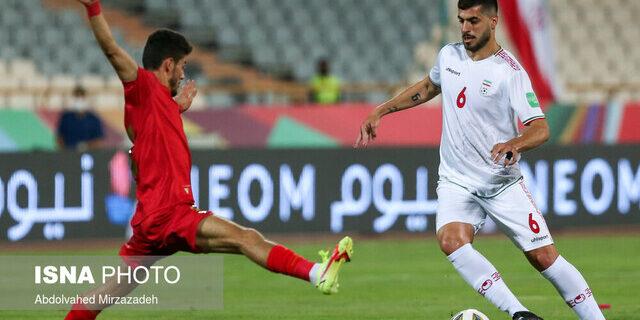 تساوی بدون گل ایران و امارات در نیمه نخست