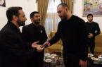 اهدا مدال طلای امیرحسین زارع به موزه آستان قدس رضوی