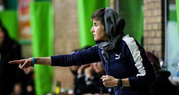 یک خانم کاندیدای ریاست فدراسیون بسکتبال شد