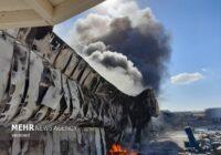 خسارت ۵۰ هزار میلیارد ریالی آتش سوزی واحد تولیدی طبیعت