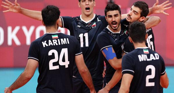 برنامه دیدارهای تیم ملی والیبال ایران در مرحله گروهی مشخص شد