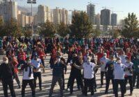 صحبتهای وزیر ورزش در پیادهروی هفته تربیت بدنی