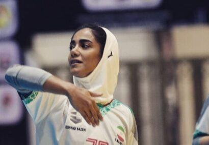 قاسمی: لژیونر شدن در هندبال زنان کار سختی است/ امیدوارم بتوانیم در اردوهای تیم ملی باشیم