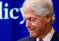 «بیل کلینتون» رئیس جمهور پیشین آمریکا در بیمارستان بستری شد