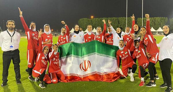 نایب قهرمانی مردان و عنوان سومی بانوان راگبی ایران در غرب آسیا