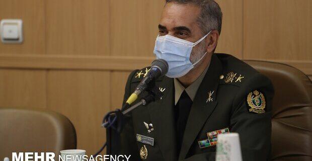 راهبرد وزارت دفاع تعامل همهجانبه و همافزا با نیروهای مسلح است