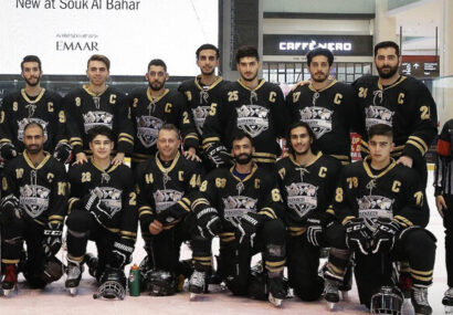 شکست تیم ملی هاکی روی یخ آقایان در تورنمنت امارات